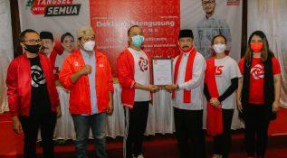 PSI Dukung Muhamad-Saraswati di Pilkada Tangerang Selatan