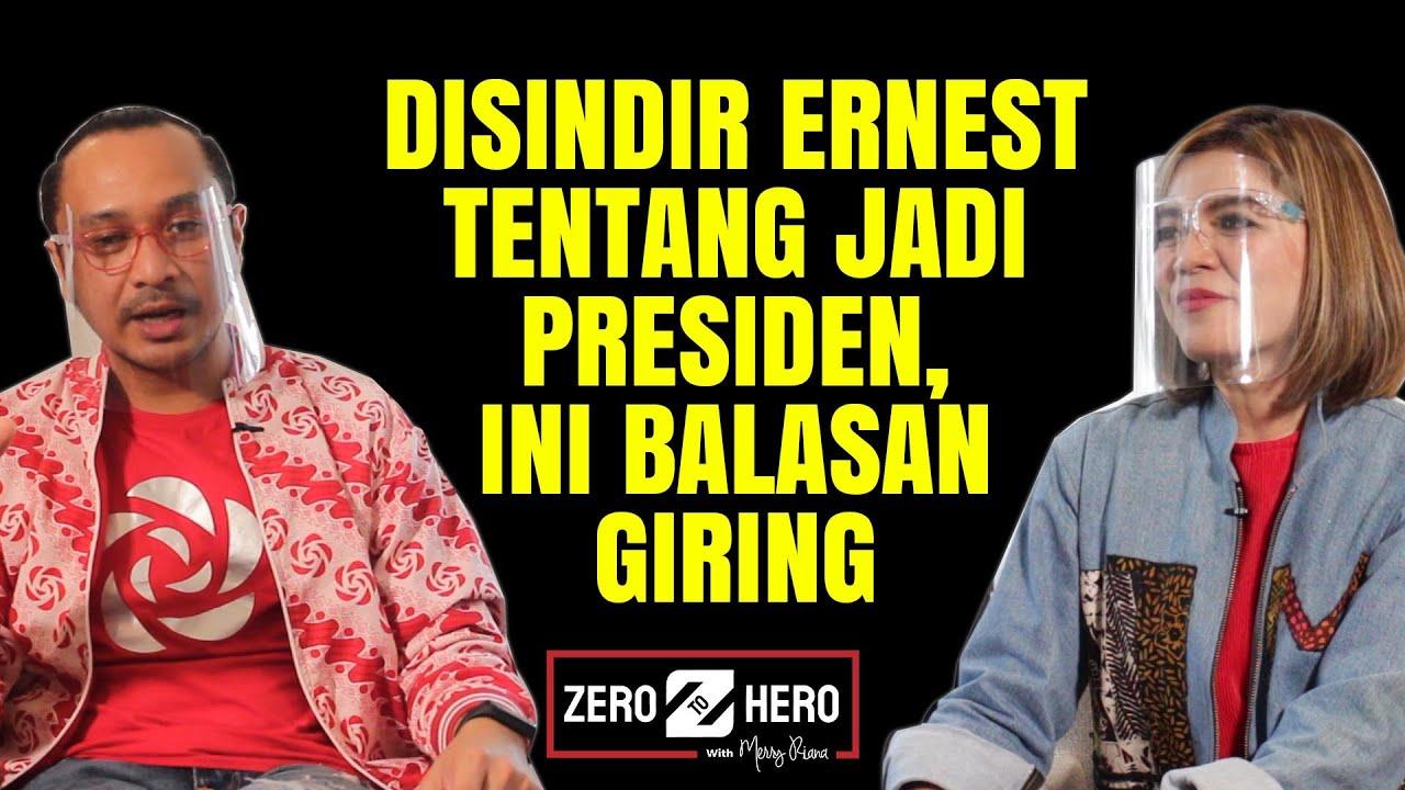 Giring di Merry Riana Part #1 – Disindir Ernest Prakasa Tentang Jadi Presiden, Ini Balasan Giring