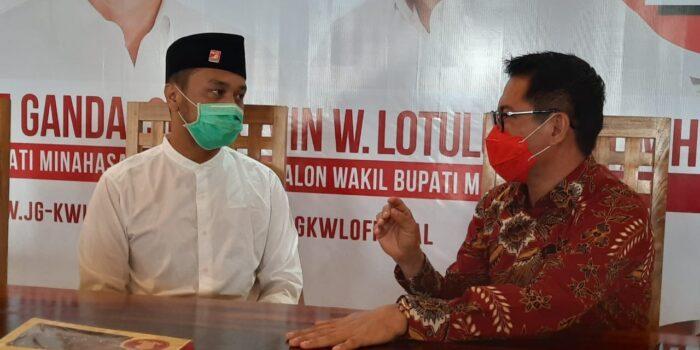 Joune Ganda dan Kevin W Lotulung Adalah Solusi untuk Minahasa Utara