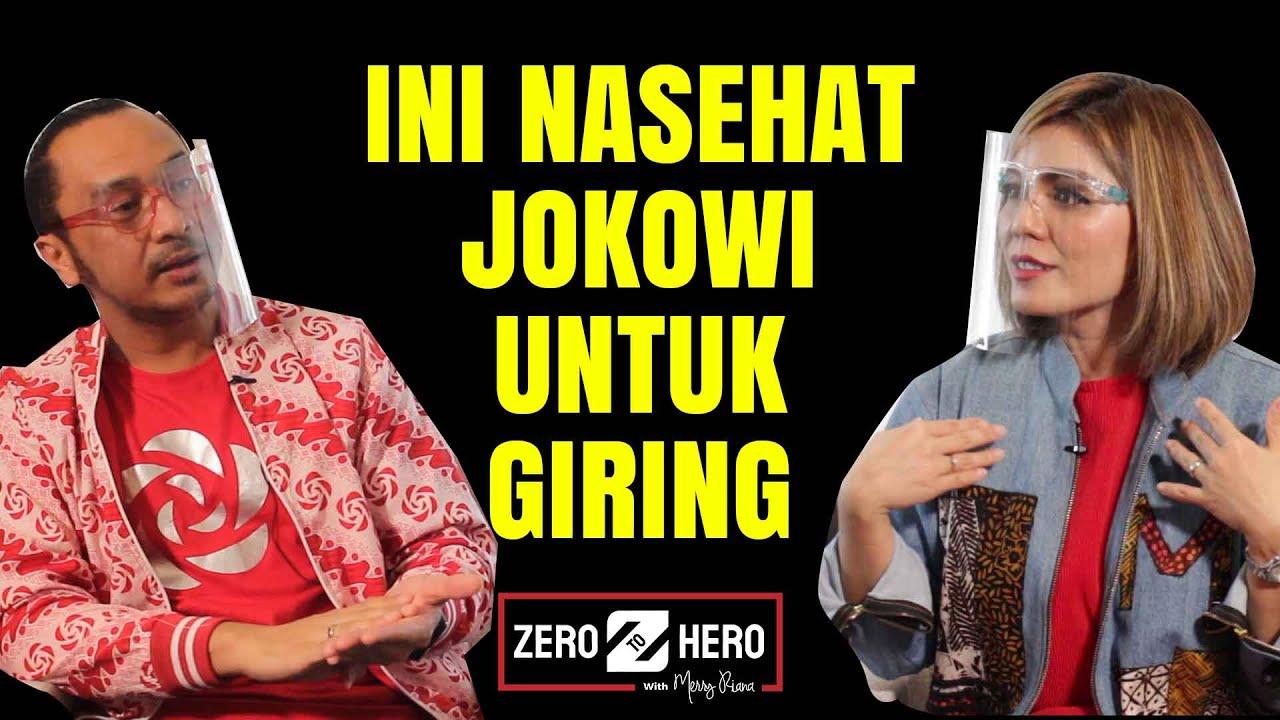 Giring di Merry Riana Part #3 – Nasehat Jokowi Untuk Giring Agar Bisa Menang Jadi Presiden