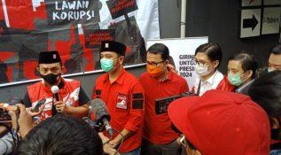 Calon Presiden Giring Ganesha Kunjungi Kader PSI di Jawa Barat