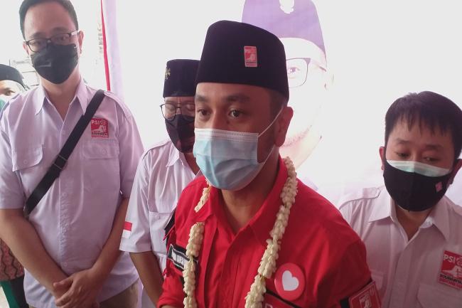 Calon Presiden RI 2024 Giring Ganesha Menyapa Surabaya
