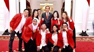 Beri Selamat HUT ke-6 PSI, Jokowi Ajak Siapkan SDM Kreatif-Inovatif