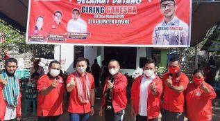 Giring Ganesha Apresiasi Positif Kinerja Pengurus DPD PSI Kupang