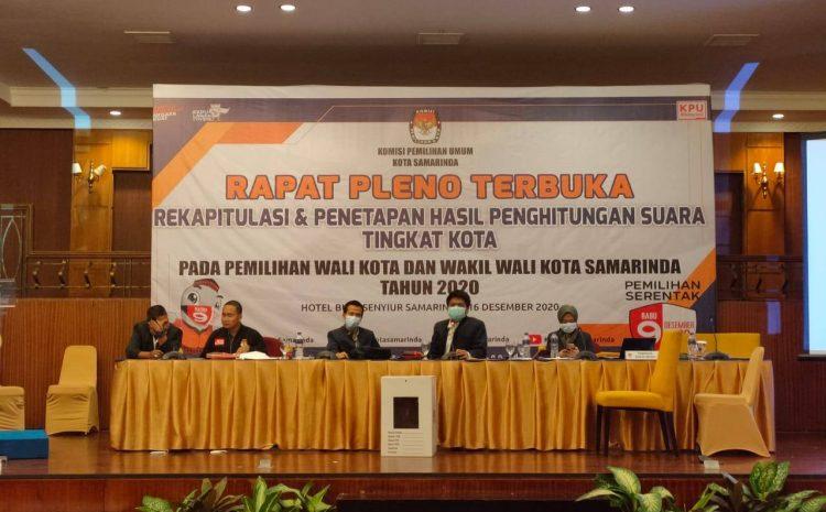 Hasil Pleno KPU: Andi Harun-Rusmadi Menang di Pilkada Samarinda