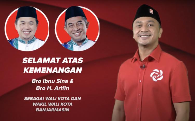Rekapitulasi Suara Pilkada Banjarmasin Rampung, Ibnu Sina-Ariffin Noor Unggul