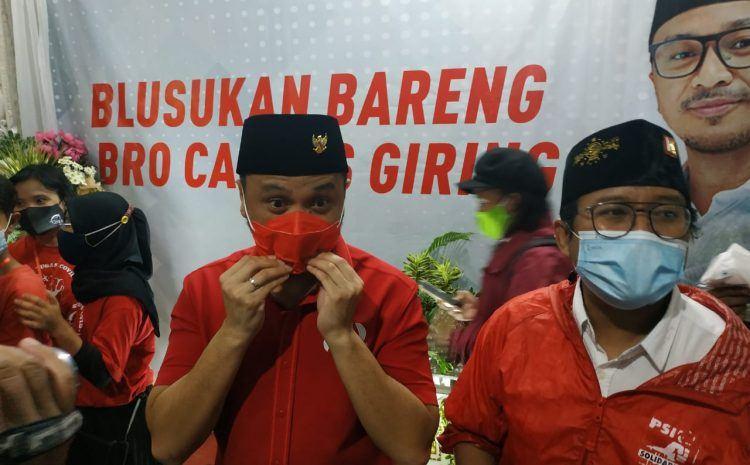 Plt Ketua Umum PSI Giring Ganesha ke Surabaya-Sidoarjo, Ini yang Dikerjakan