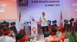 Giring PSI: DPW dan DPD Kerja Lebih Keras
