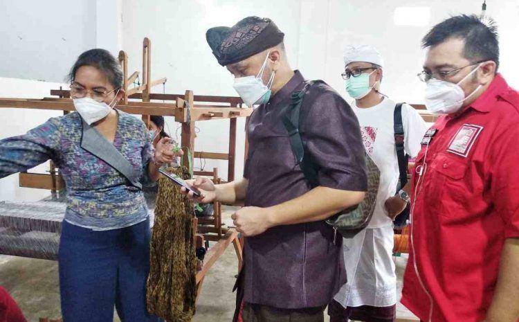 Plt Ketum PSI Giring Ganesha Temui Petani dan Pengrajin Endek di Denpasar, Dorong Pariwisata Bali Segera Dibuka