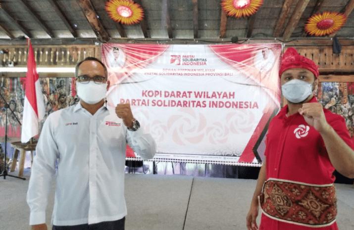 """Kunjungan ke Bali, Giring Ingatkan Kader PSI """"Kerja, Kerja, Kerja"""" untuk Rakyat, Program Rice Box Diperpanjang hingga September"""