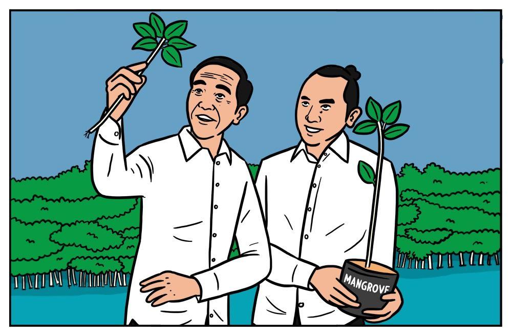 Hutan Mangrove sebagai Salah Satu Solusi Krisis Iklim